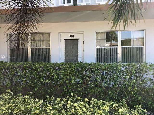 220 Somerset L #220, West Palm Beach, FL 33417 (MLS #A10813044) :: Berkshire Hathaway HomeServices EWM Realty