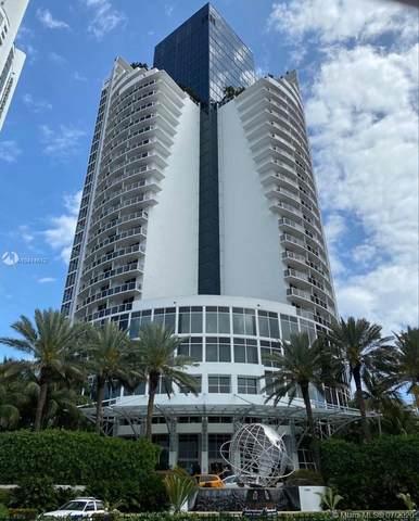 18001 Collins Ave #1514, Sunny Isles Beach, FL 33160 (MLS #A10814612) :: Berkshire Hathaway HomeServices EWM Realty