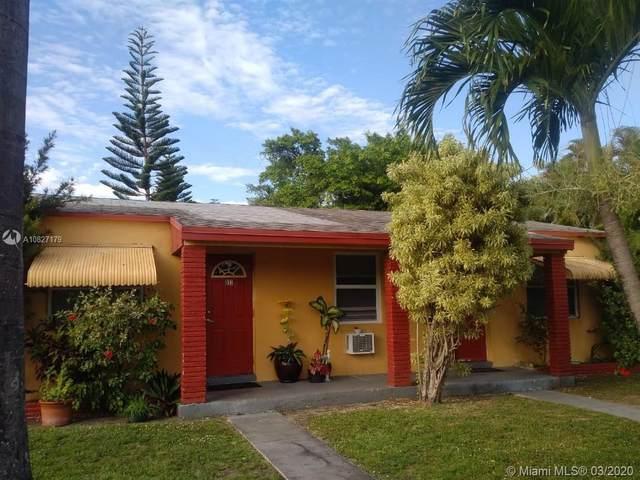815 NE 5th St, Hallandale Beach, FL 33009 (MLS #A10827179) :: Berkshire Hathaway HomeServices EWM Realty