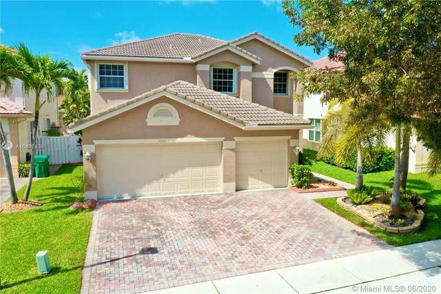 1882 SW 152nd Ter, Miramar, FL 33027 (MLS #A10827809) :: THE BANNON GROUP at RE/MAX CONSULTANTS REALTY I