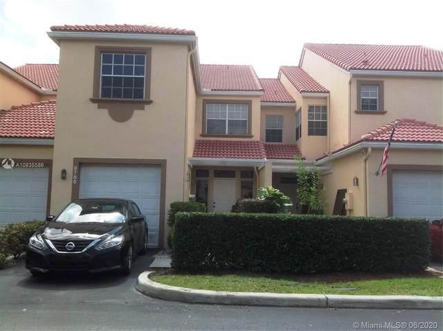 9786 Royal Palm Blvd #9786, Coral Springs, FL 33065 (MLS #A10835586) :: Berkshire Hathaway HomeServices EWM Realty