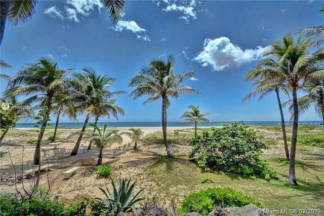 710 N Ocean Blvd #1201, Pompano Beach, FL 33062 (MLS #A10851000) :: Castelli Real Estate Services