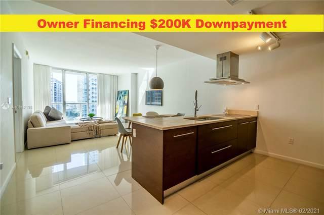 485 Brickell Ave #1807, Miami, FL 33131 (MLS #A10862135) :: Dalton Wade Real Estate Group