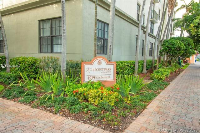 1919 Van Buren St 106A, Hollywood, FL 33020 (MLS #A10870754) :: Ray De Leon with One Sotheby's International Realty