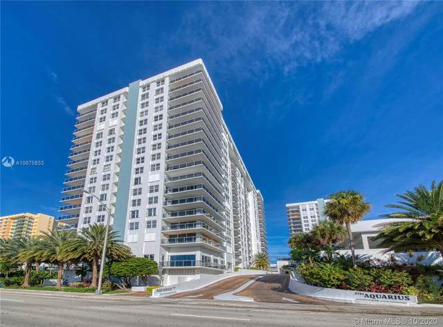 2751 S Ocean Dr 308S, Hollywood, FL 33019 (MLS #A10875833) :: Ray De Leon with One Sotheby's International Realty