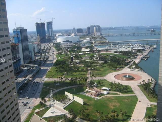 325 S Biscayne Blvd #3524, Miami, FL 33131 (#A10880386) :: Posh Properties