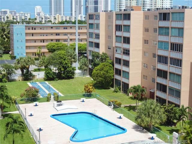 320 NE 12th Ave #701, Hallandale Beach, FL 33009 (MLS #A10884070) :: Prestige Realty Group