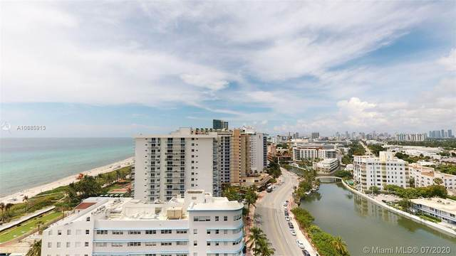 2555 Collins Ave #1912, Miami Beach, FL 33140 (MLS #A10885913) :: The Pearl Realty Group