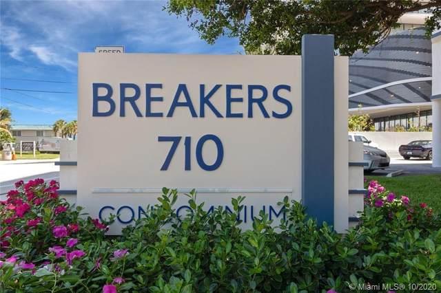 710 N Ocean Blvd #110, Pompano Beach, FL 33062 (MLS #A10900144) :: Berkshire Hathaway HomeServices EWM Realty
