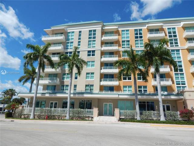 100 NE 6th St #407, Boynton Beach, FL 33435 (MLS #A10901584) :: Green Realty Properties