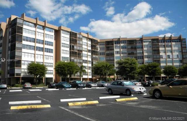1400 Saint Charles Pl #607, Pembroke Pines, FL 33026 (MLS #A10912697) :: KBiscayne Realty