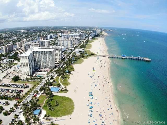 111 N Pompano Beach Blvd #1705, Pompano Beach, FL 33062 (MLS #A10913145) :: Patty Accorto Team