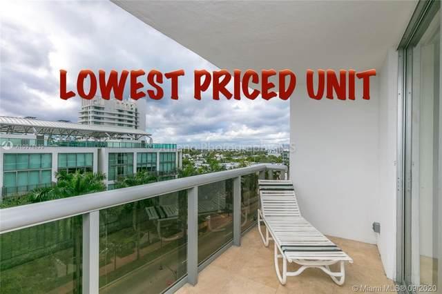 6039 Collins Ave #733, Miami Beach, FL 33140 (MLS #A10914639) :: Berkshire Hathaway HomeServices EWM Realty