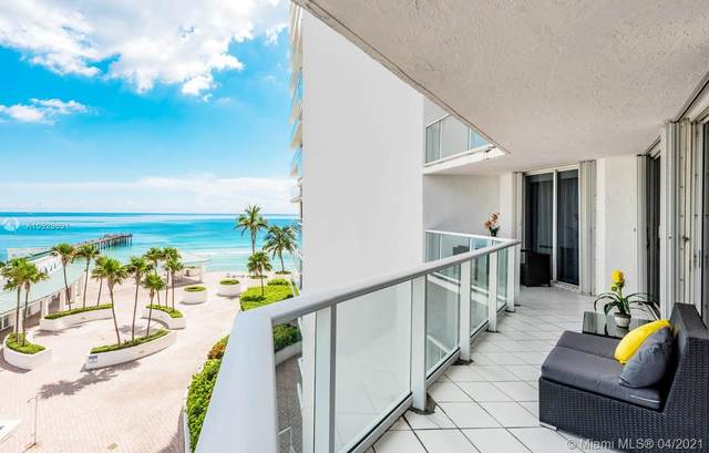 16485 Collins Ave #734, Sunny Isles Beach, FL 33160 (MLS #A10923831) :: Team Citron