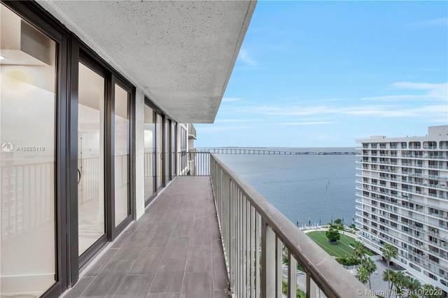 1450 Brickell Bay Dr #1707, Miami, FL 33131 (MLS #A10925119) :: Prestige Realty Group