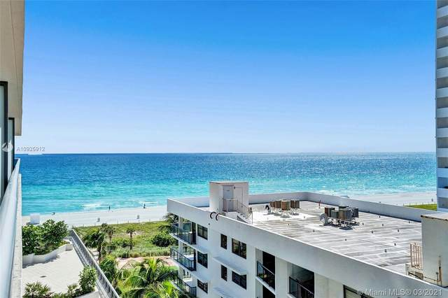 5875 Collins Ave #808, Miami Beach, FL 33140 (MLS #A10925912) :: The Teri Arbogast Team at Keller Williams Partners SW