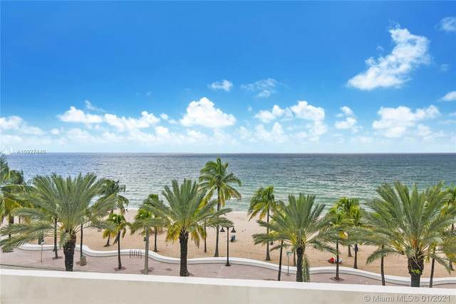 101 S Fort Lauderdale Beach Blvd #605, Fort Lauderdale, FL 33316 (MLS #A10927440) :: Green Realty Properties
