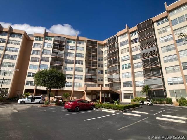 1000 Saint Charles Pl #614, Pembroke Pines, FL 33026 (MLS #A10928995) :: Green Realty Properties