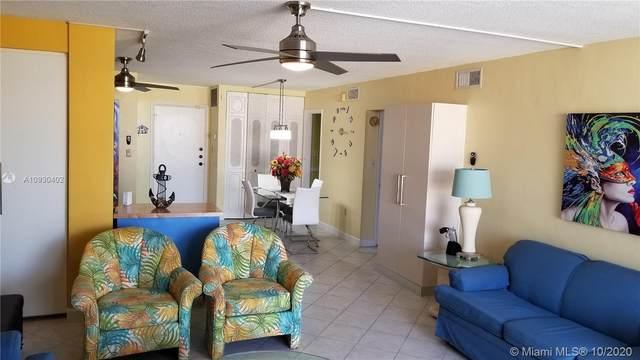 801 S Ocean Dr #403, Hollywood, FL 33019 (MLS #A10930402) :: Berkshire Hathaway HomeServices EWM Realty