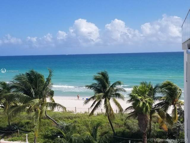 5445 Collins Ave M8, Miami Beach, FL 33140 (MLS #A10942315) :: Ray De Leon with One Sotheby's International Realty