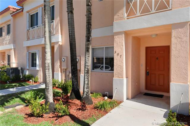 587 NW 208th Dr #587, Pembroke Pines, FL 33029 (MLS #A10950385) :: Castelli Real Estate Services
