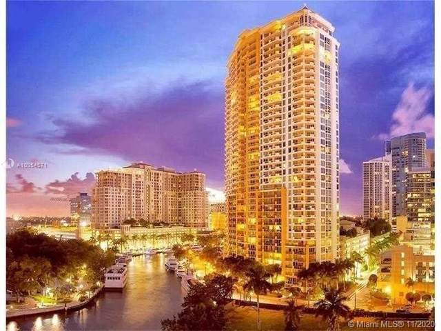 411 N New River Dr E #3601, Fort Lauderdale, FL 33301 (MLS #A10954571) :: The Riley Smith Group