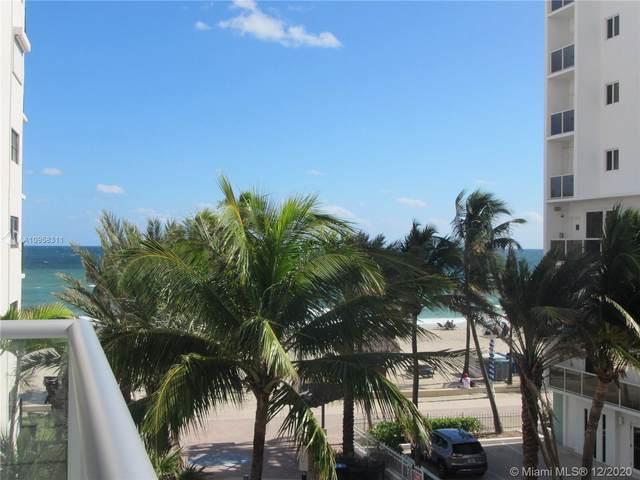 777 N Ocean Dr N307, Hollywood, FL 33019 (MLS #A10958311) :: Patty Accorto Team