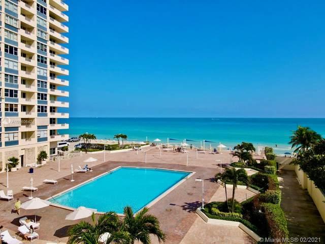 3180 S Ocean Dr #208, Hallandale Beach, FL 33009 (MLS #A10960642) :: Podium Realty Group Inc