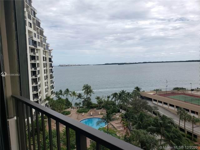 520 Brickell Key Dr A1015, Miami, FL 33131 (MLS #A10963662) :: Patty Accorto Team