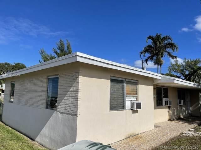 409 SW 4th Ter, Hallandale Beach, FL 33009 (MLS #A10969069) :: The Teri Arbogast Team at Keller Williams Partners SW