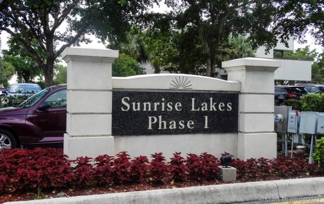 2851 E Sunrise Lakes Dr #102, Sunrise, FL 33322 (MLS #A10971421) :: The Teri Arbogast Team at Keller Williams Partners SW