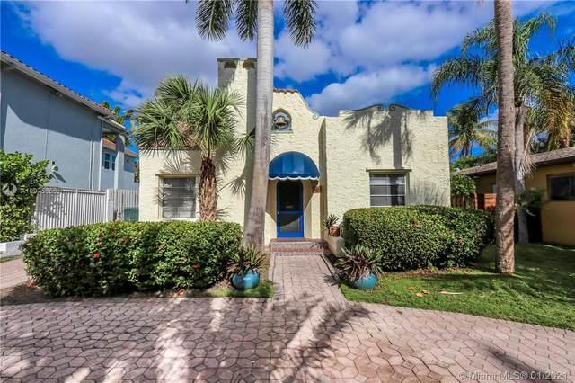 1017 Buchanan St, Hollywood, FL 33019 (MLS #A10975656) :: Albert Garcia Team