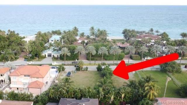 652 Ocean Blvd, Golden Beach, FL 33160 (MLS #A10975670) :: ONE Sotheby's International Realty