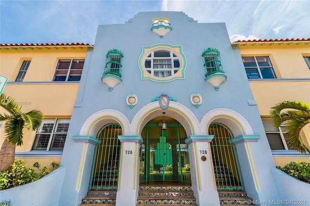 736 13th St #107, Miami Beach, FL 33139 (MLS #A10986500) :: Green Realty Properties