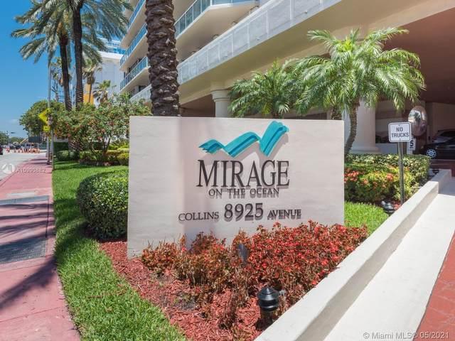 8925 Collins Ave 2H, Surfside, FL 33154 (MLS #A10990882) :: Compass FL LLC
