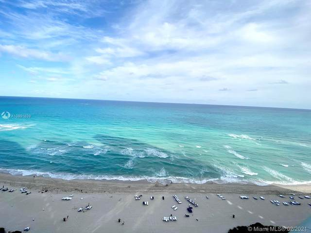 17121 Collins Ave #1903, Sunny Isles Beach, FL 33160 (MLS #A10991639) :: Jo-Ann Forster Team