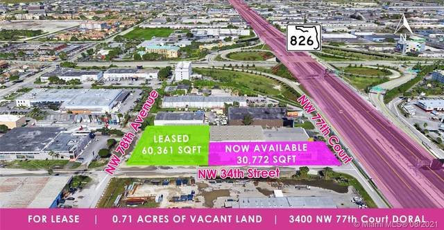 3400 NW 77th Ct, Doral, FL 33122 (MLS #A10992298) :: Green Realty Properties