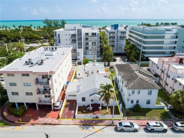 7835 Harding Ave, Miami Beach, FL 33141 (MLS #A10992458) :: The MPH Team