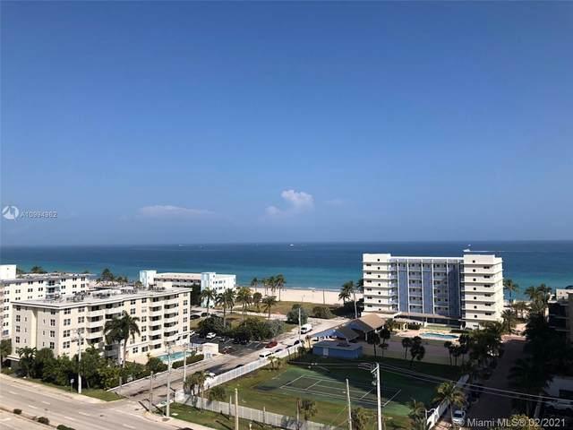 1600 S Ocean Dr 12K, Hollywood, FL 33019 (MLS #A10994962) :: Podium Realty Group Inc