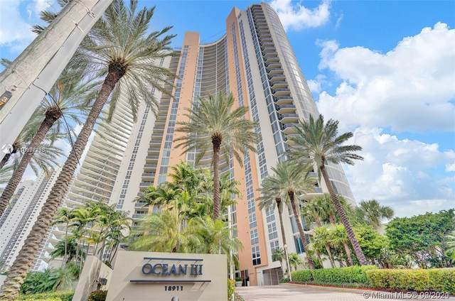 18911 Collins Ave #2102, Sunny Isles Beach, FL 33160 (MLS #A10998236) :: Green Realty Properties