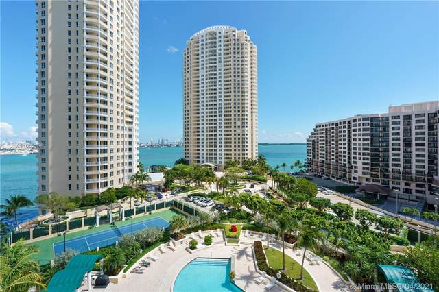 888 Brickell Key Dr #1207, Miami, FL 33131 (MLS #A11003166) :: The Howland Group