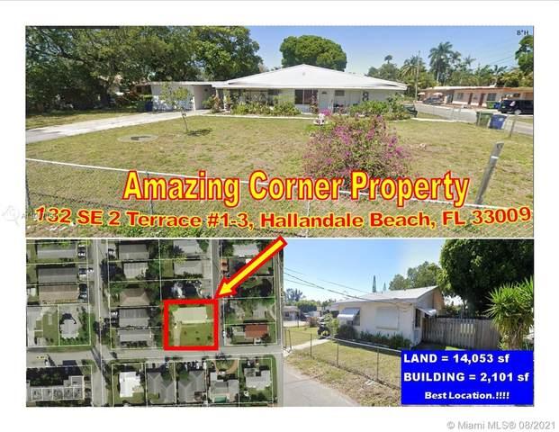 132 SE 2 Terrace, Hallandale Beach, FL 33009 (MLS #A11007195) :: Green Realty Properties