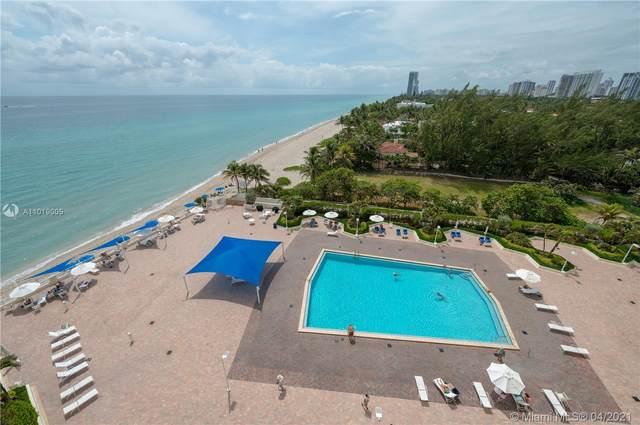 3180 S Ocean Dr #809, Hallandale Beach, FL 33009 (MLS #A11019005) :: ONE | Sotheby's International Realty