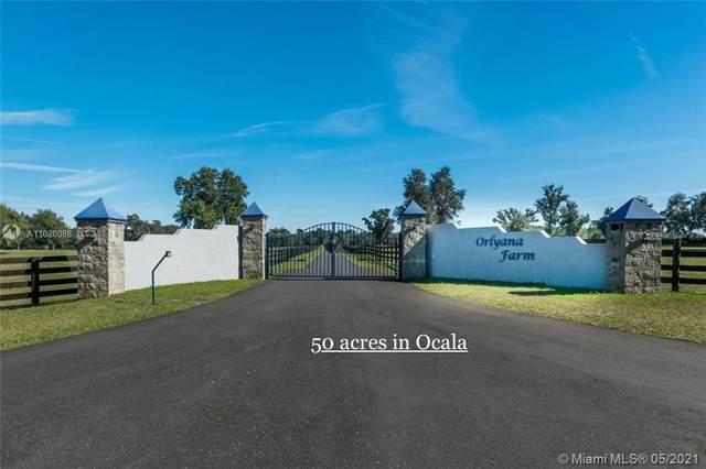 7787 NW 150TH AVE, Ocala, FL 32668 (#A11020088) :: Posh Properties