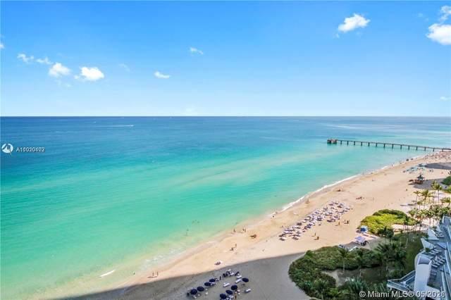 17121 Collins Ave #806, Sunny Isles Beach, FL 33160 (#A11020102) :: Posh Properties