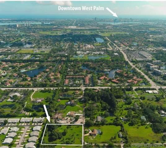5165 Horseshoe Cir N, West Palm Beach, FL 33417 (MLS #A11021383) :: The Rose Harris Group