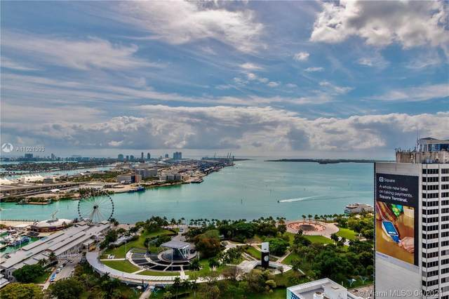 253 NE 2nd St 3402/03, Miami, FL 33132 (MLS #A11021393) :: Castelli Real Estate Services