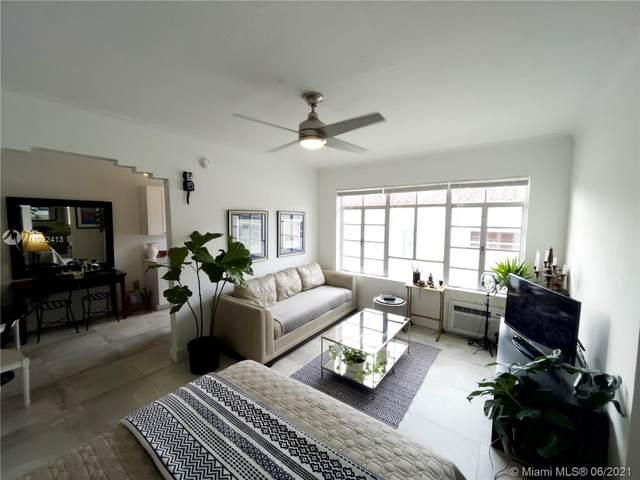 1611 Euclid Ave #11, Miami Beach, FL 33139 (MLS #A11022413) :: The Rose Harris Group