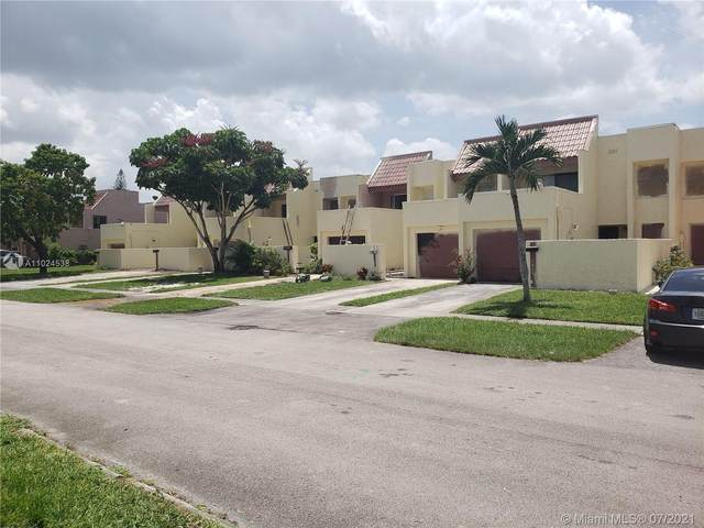 1803 NW 56th Ter #9, Lauderhill, FL 33313 (MLS #A11024538) :: Onepath Realty - The Luis Andrew Group
