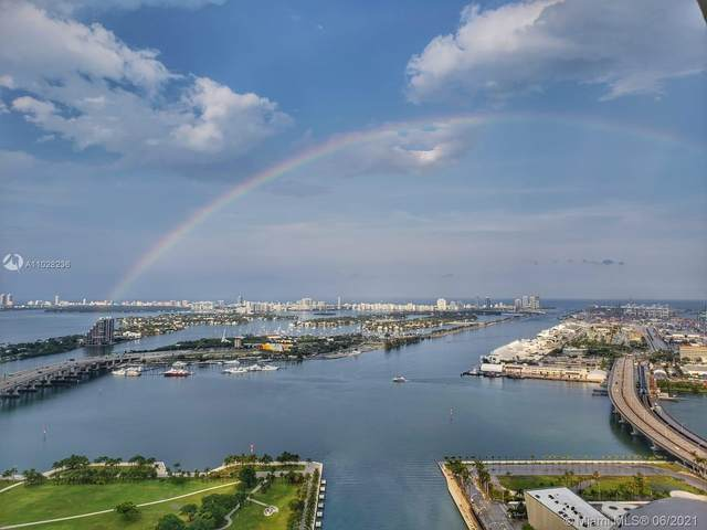 888 Biscayne Blvd #4612, Miami, FL 33132 (MLS #A11028236) :: The Howland Group